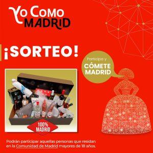Yo Como Madrid Sorteo